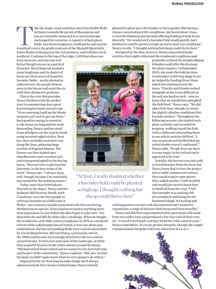 Farmers 39 farmers welcomes country living magazine to for Country living magazine phone number