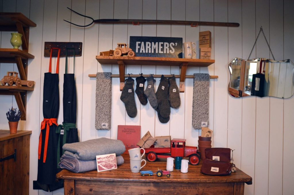 welsh gift shop, lavender products, farmers provisions