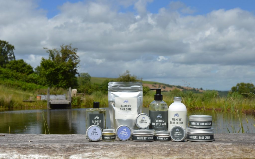 luxury skincare products, lavender products, welsh gift shop