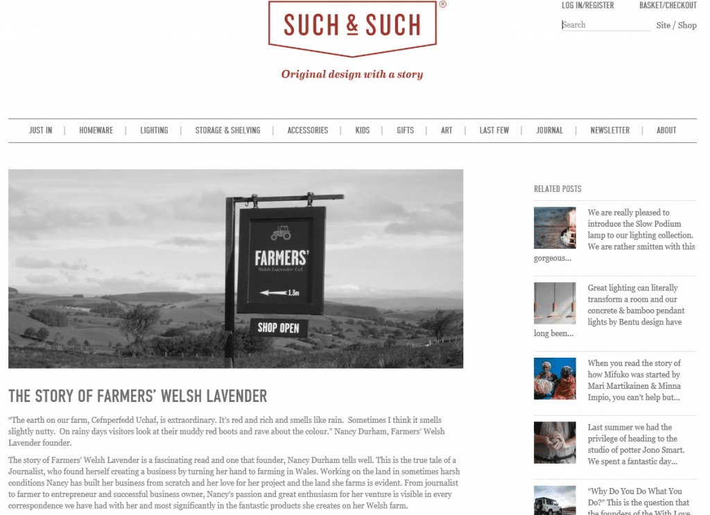 Such and Such Blog