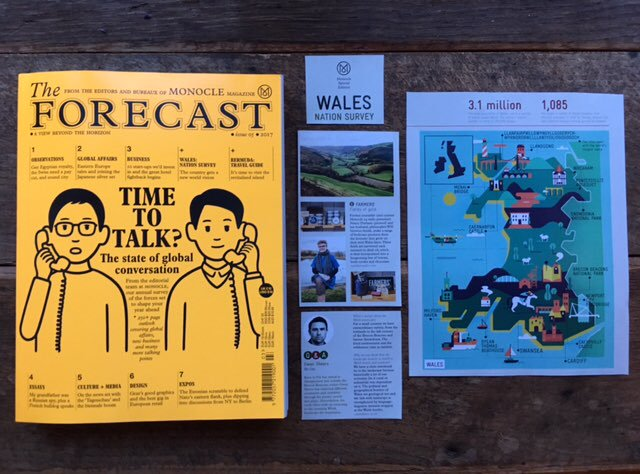 Farmers' feature in Monocle's magazine
