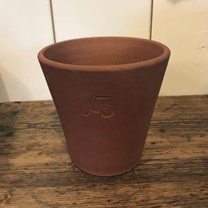 FARMERS' terracotta pot