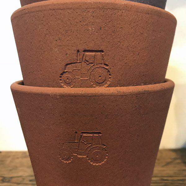 FARMERS' terracotta pots