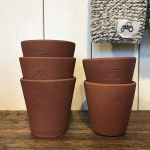 FARMERS' terracotta pots