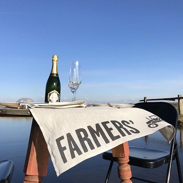 FARMERS' Linen Tea Towel